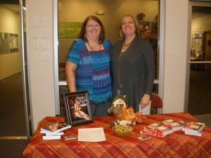 9-28-2012 Booksigning with Kathy Kovach