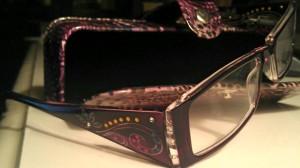 My super cool new glasses