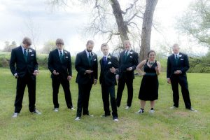 David and groomsmen