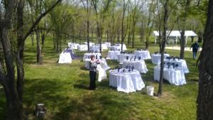 preparing venue 1