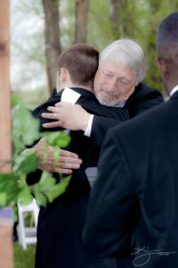 jerry and david hug