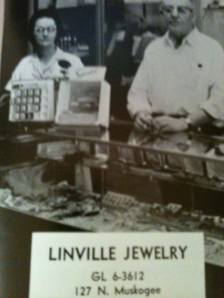 Linville jewelry store.