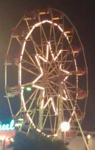 Lakeside ferris wheel