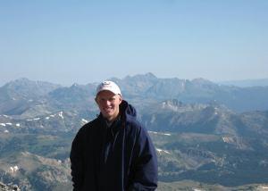 stephen on mountain
