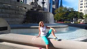 ACFW fountain