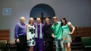 graduation - family