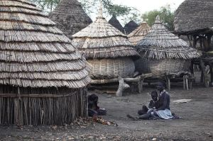 800px-Village_in_South_Sudan