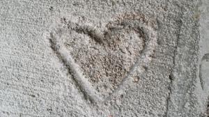 concrete heart