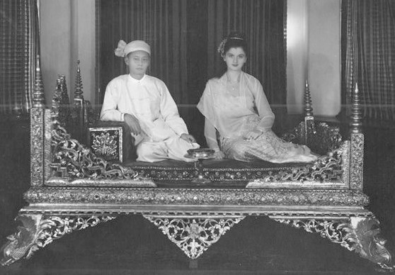 Inge Sargent and Shan prince Sao Ky Seng